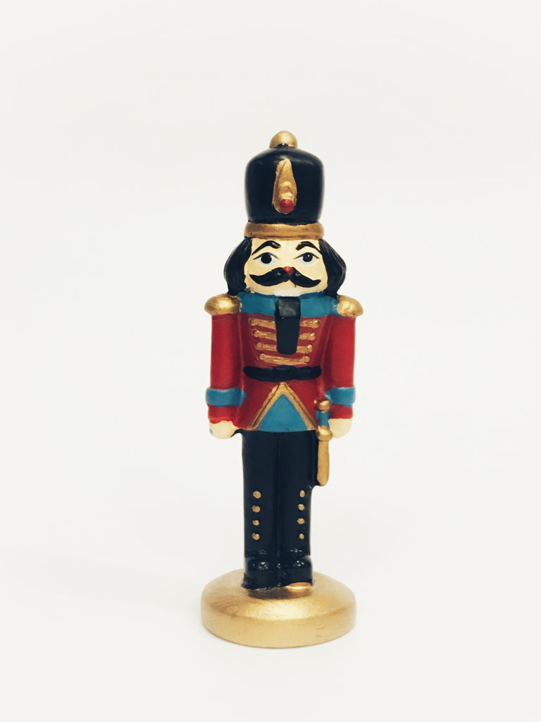 Nutcracker Resin Cake Topper