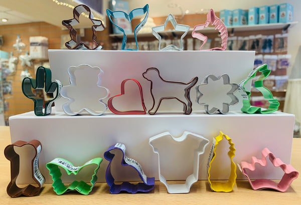 Assorted Mini Cookie Cutters