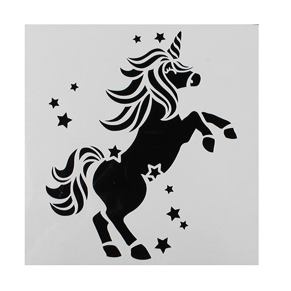 Cake Star Unicorn Stencil
