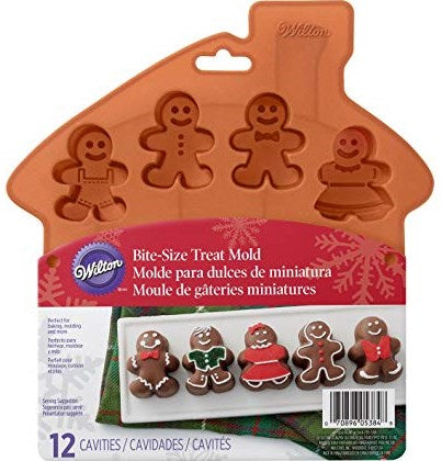 Wilton Gingerbread Boy/Girl Silicone Mould