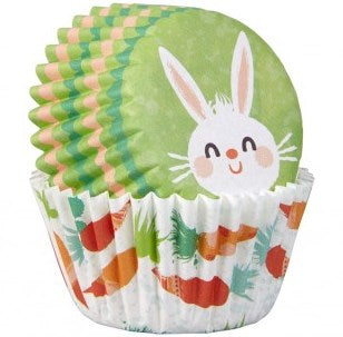Wilton Mini Baking Cases - Easter Bunny and Carrots