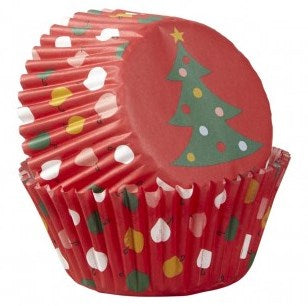 Wilton Christmas Tree Cupcake Cases