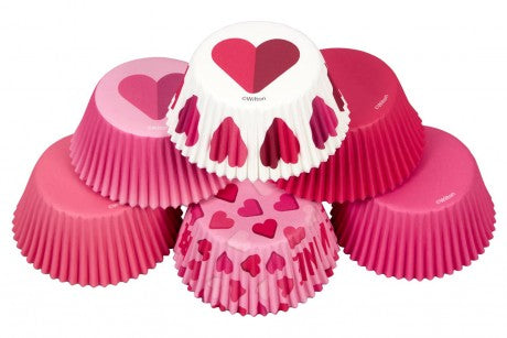 Wilton Be Mine Assorted Baking Cases
