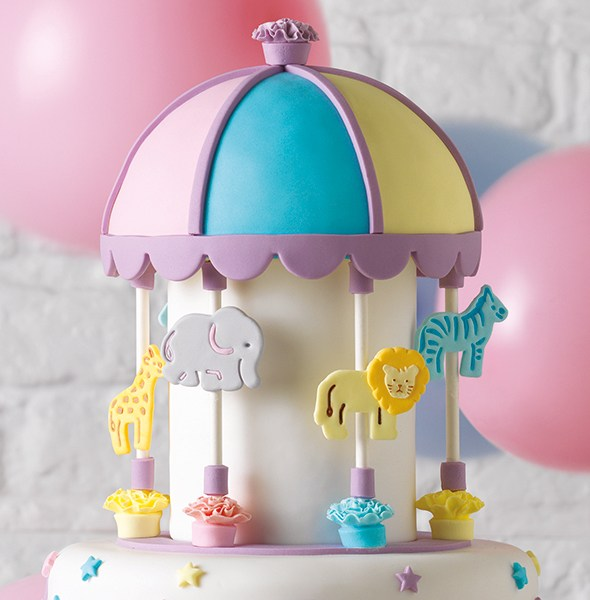 Cake Star Plunger Cutter Jungle Animals