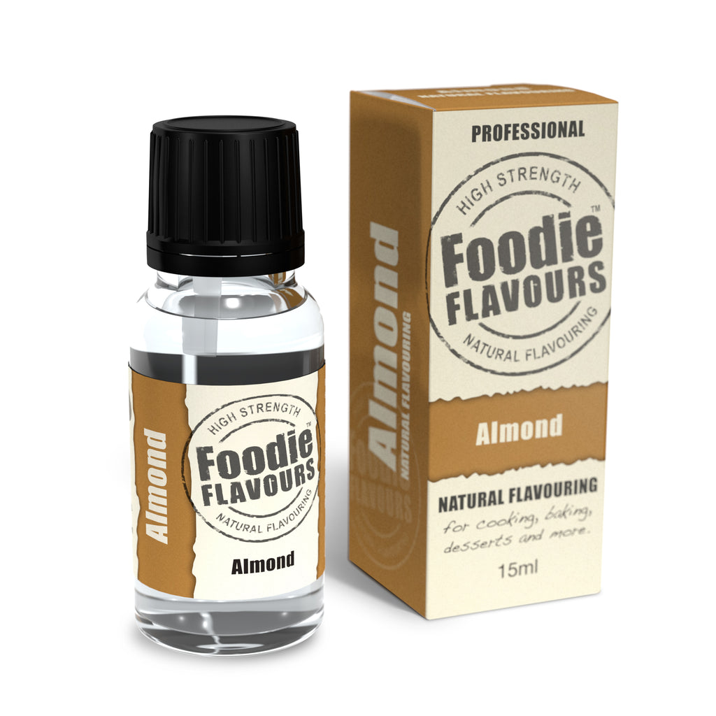 Foodie Flavours Almond Natural Flavouring 15ml