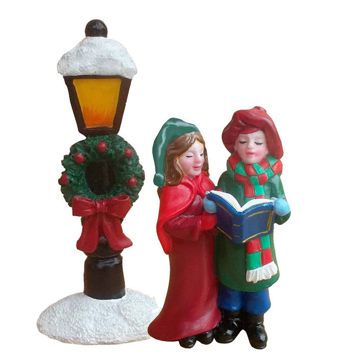 Christmas Victorian Lamp Post Cake Decoration