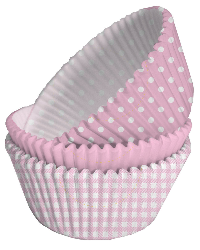 Pink Mixed Cupcake Cases
