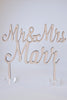 Bespoke Acrylic Wedding Cake Topper Design Service