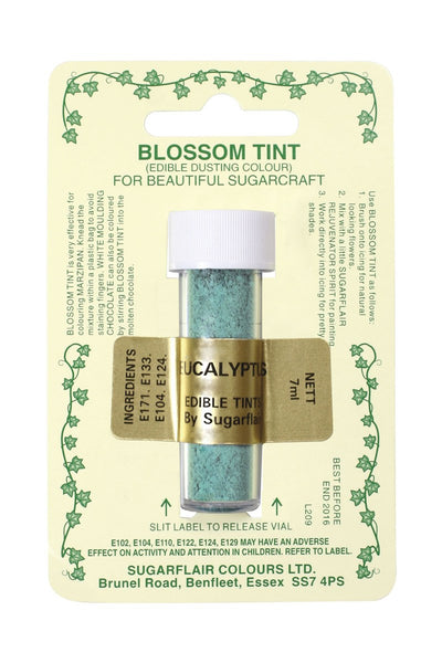 Sugarflair Blossom Tint Dusting Colours – Eucalyptus