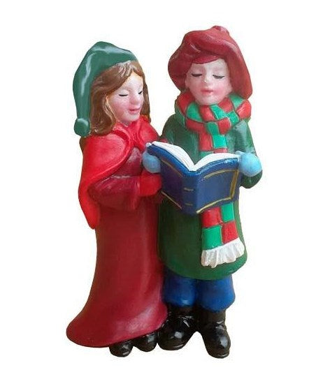 Christmas Carol Singers Cake Decoration