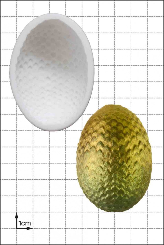 FPC 'Dragon Egg (Large)' Silicone Mould