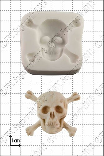 FPC 'Skull & Crossbones' Silicone Mould