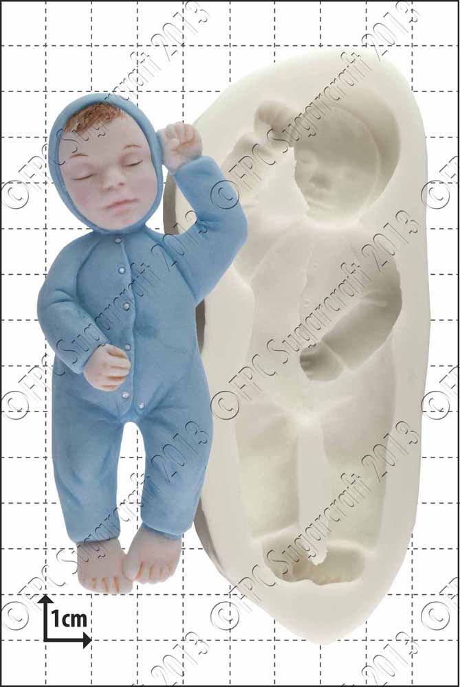 FPC 'Sleeping Baby' Silicone Mould