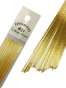 Hamilworth Metallic Gold Wires 24 Gauge