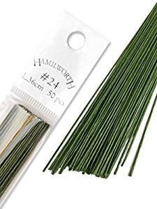Hamilworth Green Wires 24 Gauge