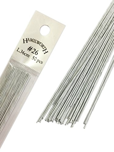 Hamilworth White Wires 26 Gauge