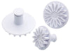 Set of 3 Sunflower Fondant Plunger Cutters