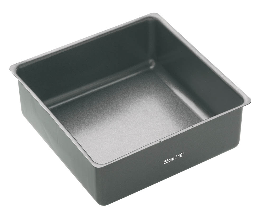 Master Class Non-Stick 25cm Square Loose Base Deep Cake Tin