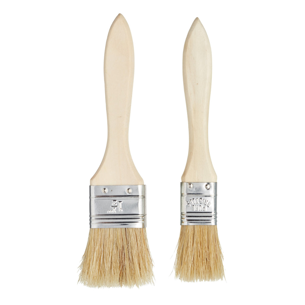 Set of 2 Wide Pastry Brushes