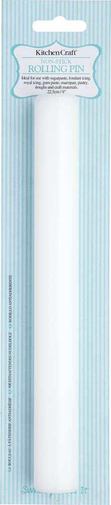 Small Non-Stick Rolling Pin, 23cm