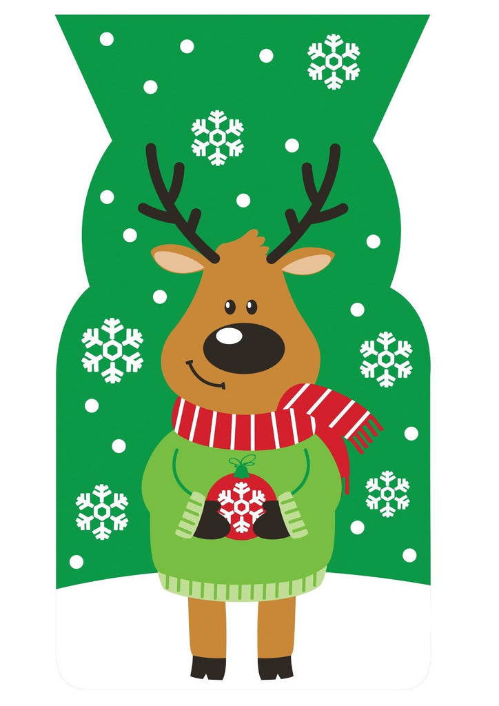 Reindeer Design Large Cello Bags
