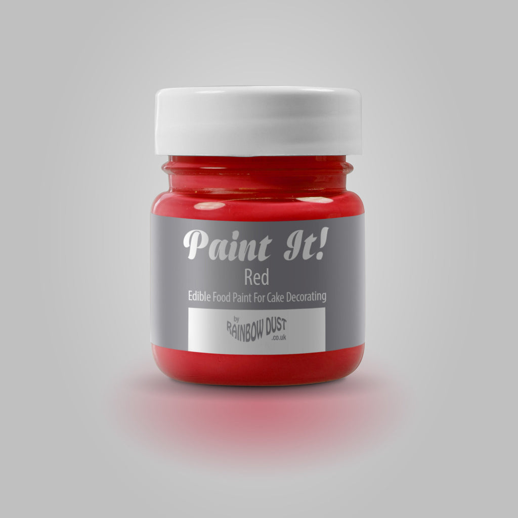 Rainbow Dust Paint It! Red