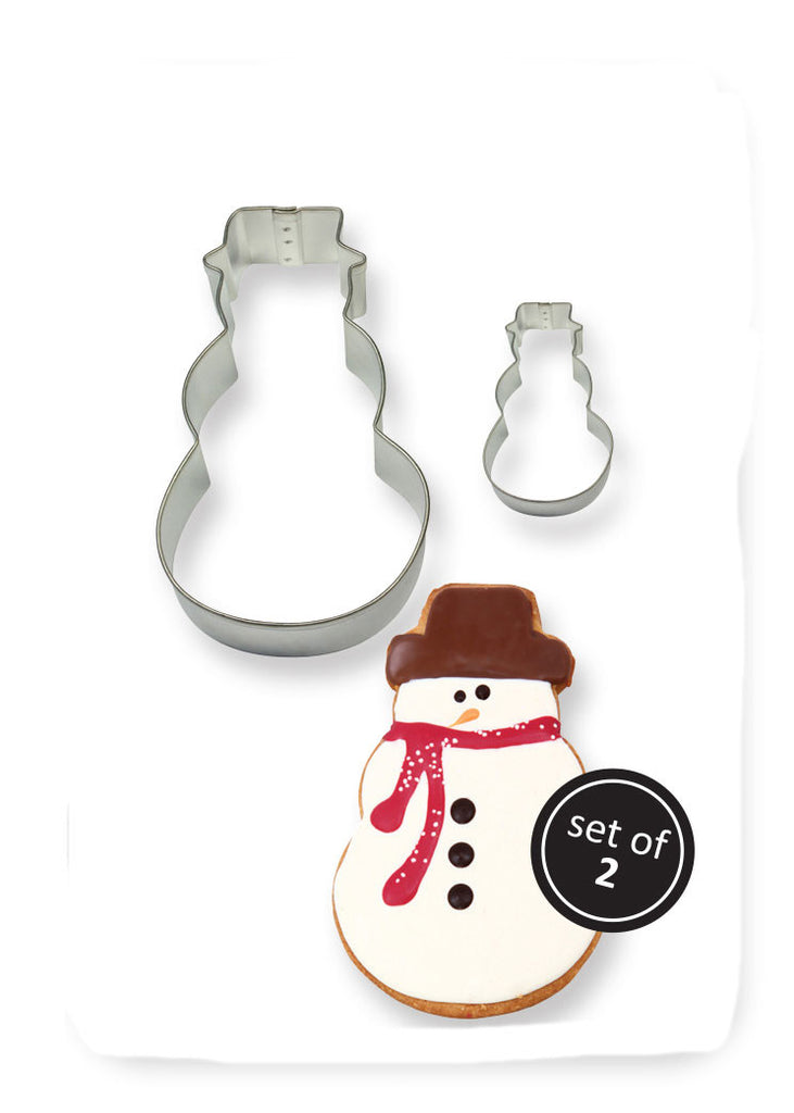 PME Set of 2 Snowman Cutters