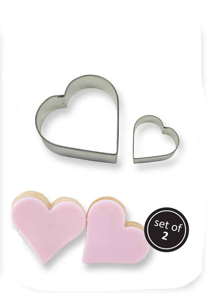 PME Set of 2 Heart Cutters