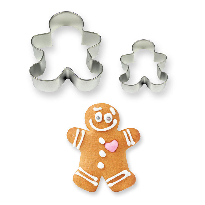 PME Set of 2 Gingerbread Man Cutters