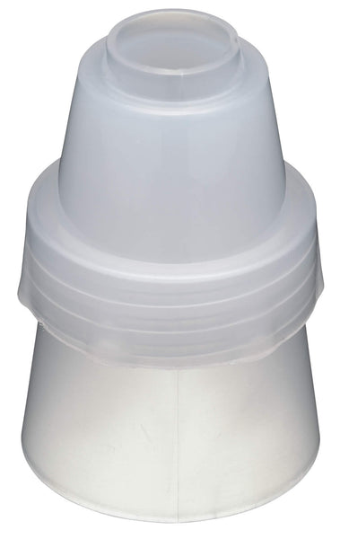 Large plastic icing couplers