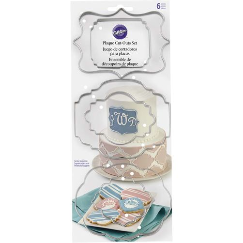 Wilton Plaque Cutter Set