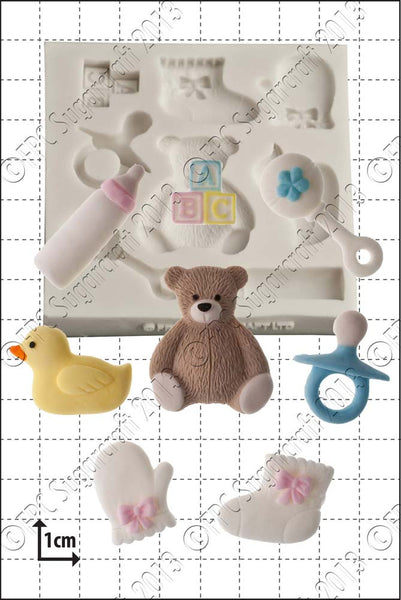 FPC Baby Shower Silicone Mould