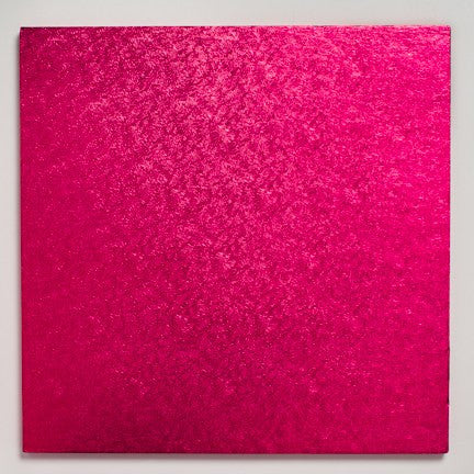 14'' (355mm) Cake Board Square Cerise