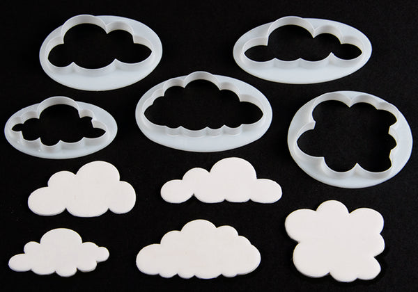 FMM Fluffy Cloud Cutter - 5 piece