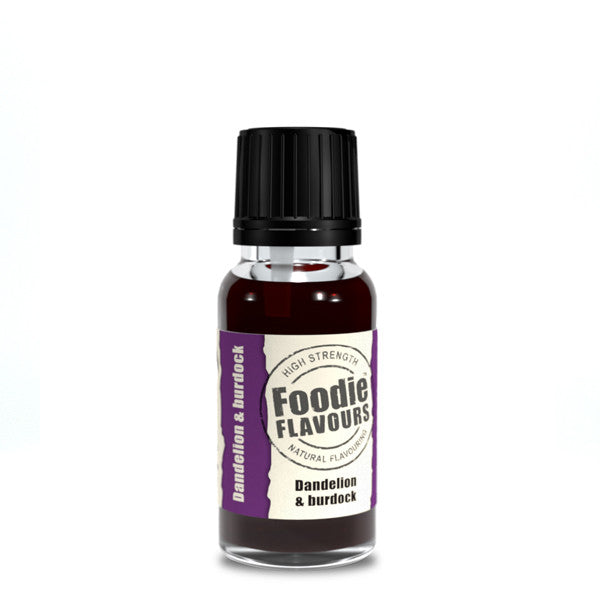 Foodie Flavours Dandelion and Burdock Natural Flavouring 15ml