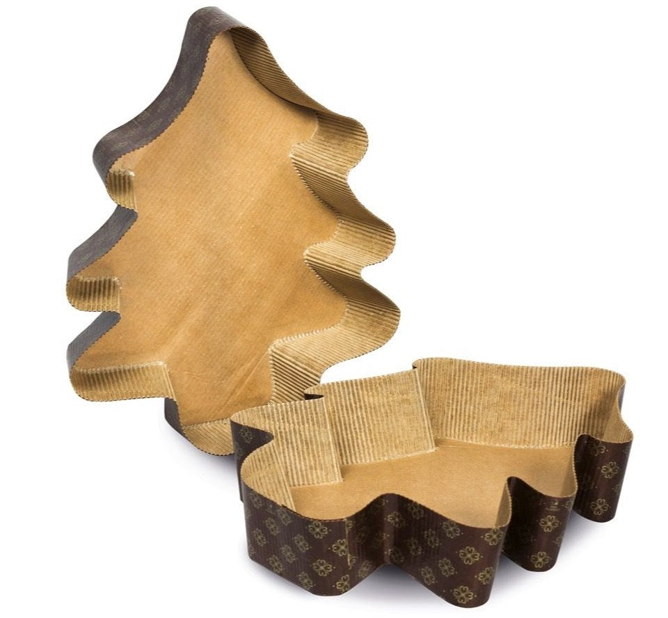 Mini Christmas Tree Baking Moulds - Pack of 5