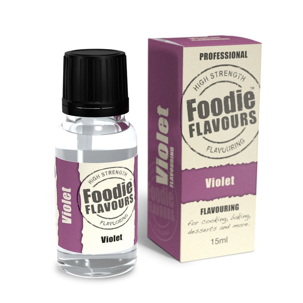 Foodie Flavours Violet Natural Flavouring 15ml