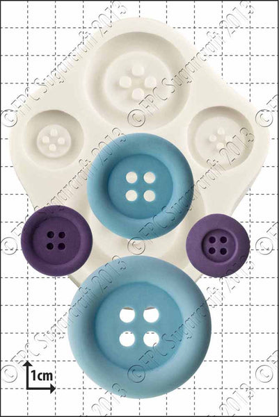 FPC 'Large Buttons' Silicone Mould