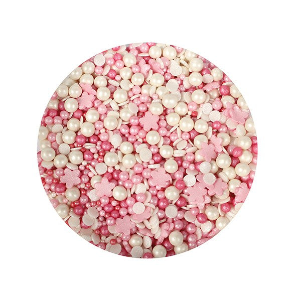 Shimmer Pink Mixed Sprinkles