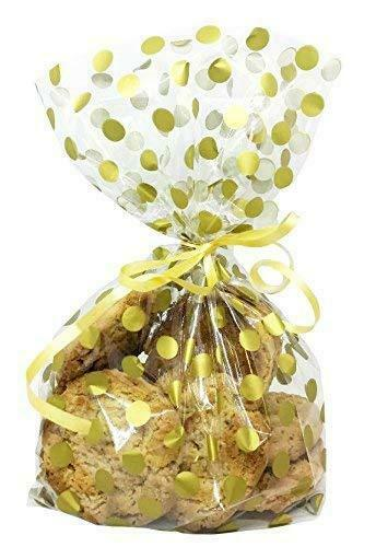 Large Gold Spot Cello Bags