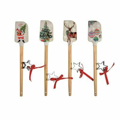 Christmas Spatula and Cookie Cutter Set