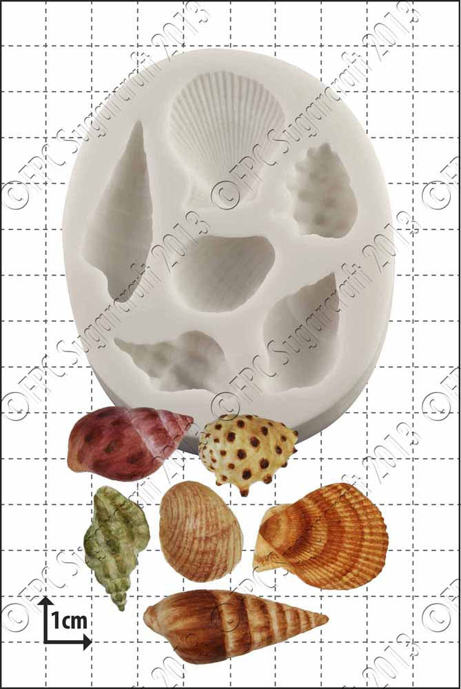 FPC Sea Shells Silicone Mould
