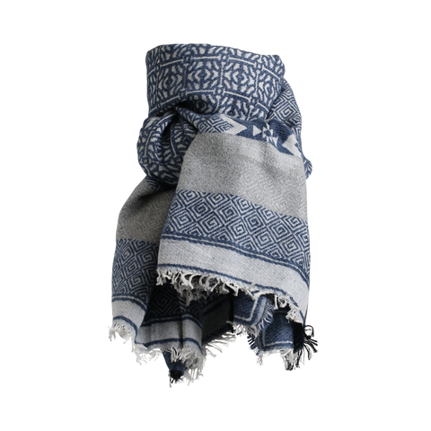 ALE SCARF DARK BLUE