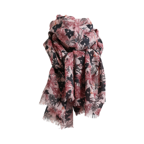 Stylesnob AW17 - Ballet scarf, 100% wool twill with eyelash