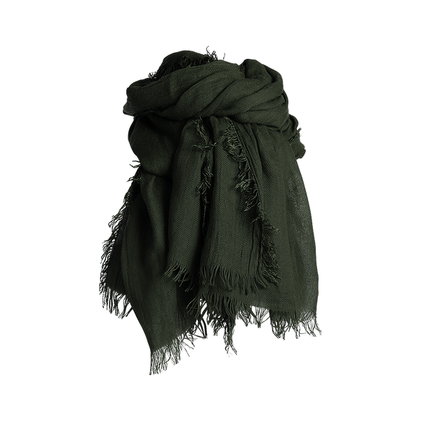 HEMA SCARF DARK GREEN