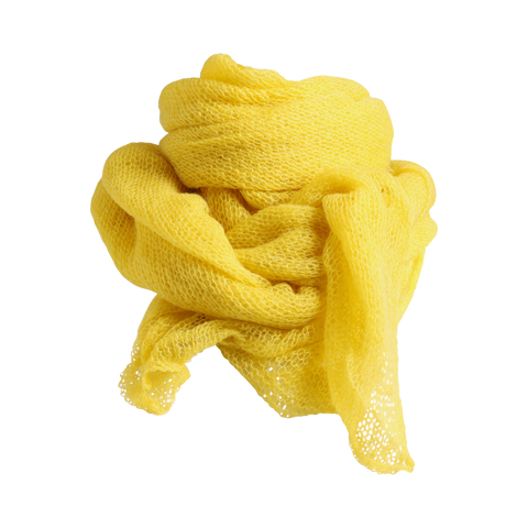 Stylesnob AW17 - Moni knitted mohair scarf, Curry