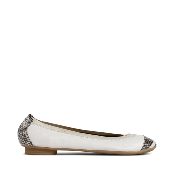 SADIE BALLERINA OFF WHITE