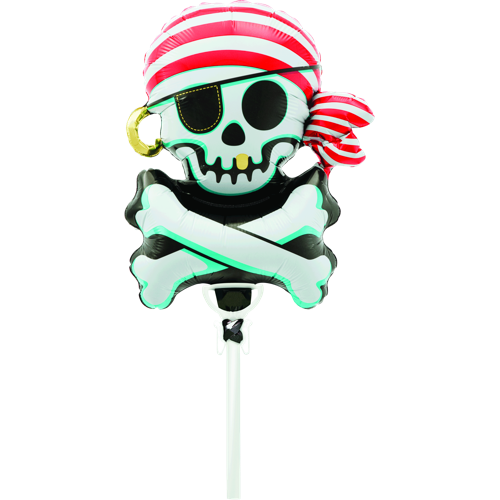 Jolly Roger (36 cm) for luftfylling (North Star) - Festbutikken AS