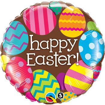 Ballong Easter Eggs & Chocolate 46cm - Festbutikken AS