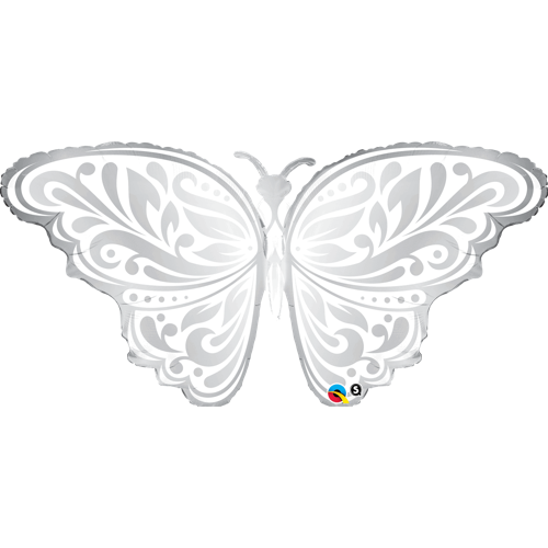 Folieballong Wedding Butterfly 91cm - Festbutikken AS